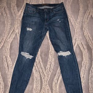 Joe's Skinny Ankle Distressed Jeans
